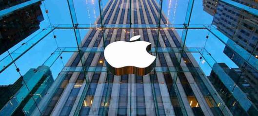 Apple fosser frem