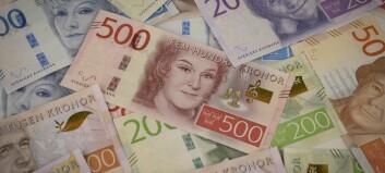 Sverige høyner tilskudd til 1 milliard